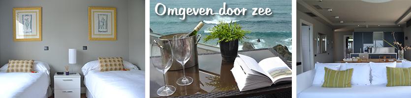 luxe appartement aan zee bilbao natuur